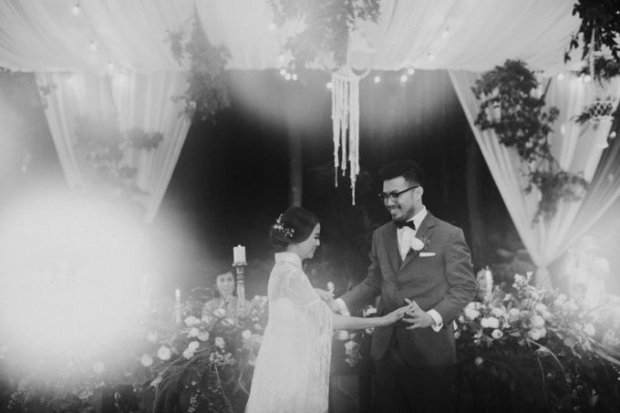 Mega & Alfred Wedding at Gunung Pancar Bogor by ILUMINEN - 032