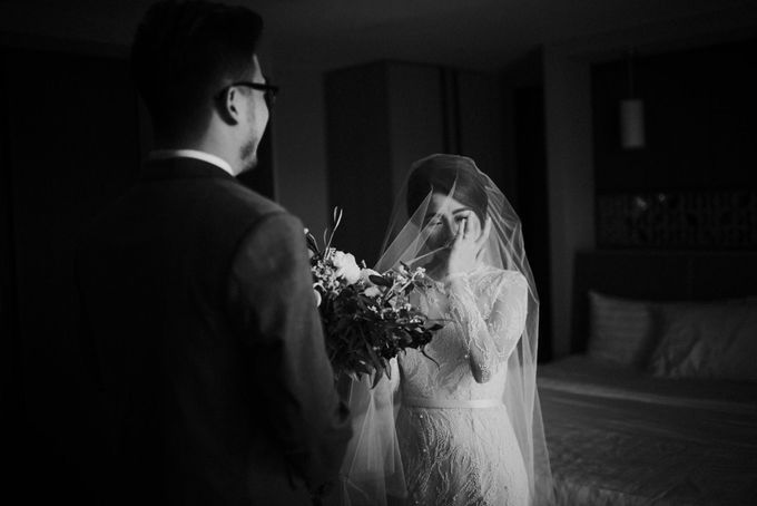 Mega & Alfred Wedding at Gunung Pancar Bogor by ILUMINEN - 013