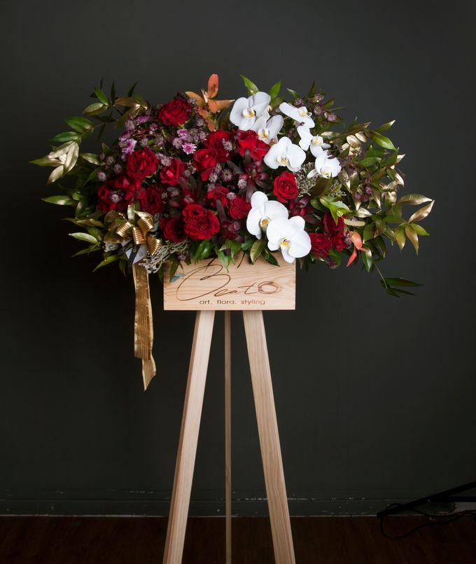 Flora stand Styling - celebration by Beato - 001