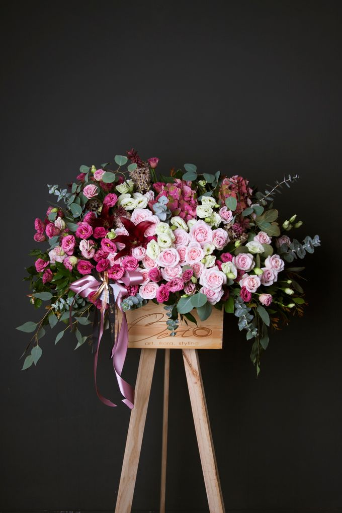Flora stand Styling - celebration by Beato - 010