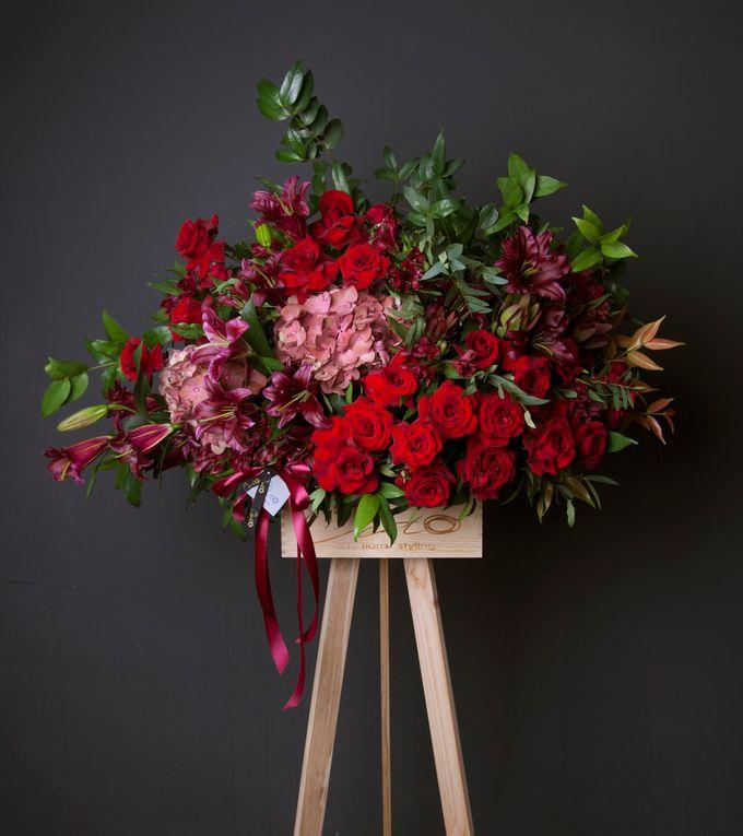 Flora stand Styling - celebration by Beato - 011