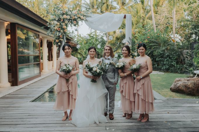 Intimate Wedding in Canggu by Silverdust Decoration - 048