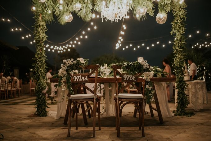 Bali Greenery Rustic with Boho Touch Wedding Decoration by Eurasia Wedding - 016