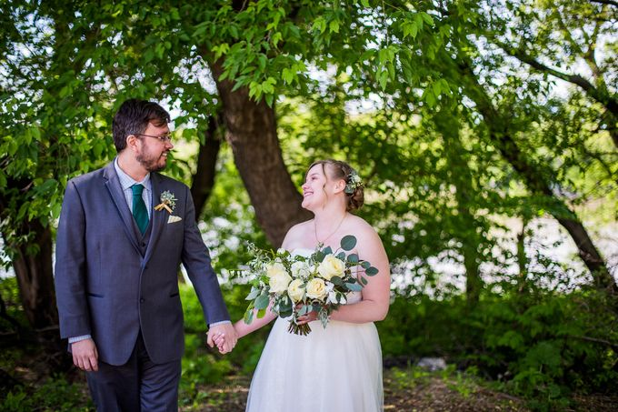 Rustic White and Green Wedding by Stone House Creative - 004