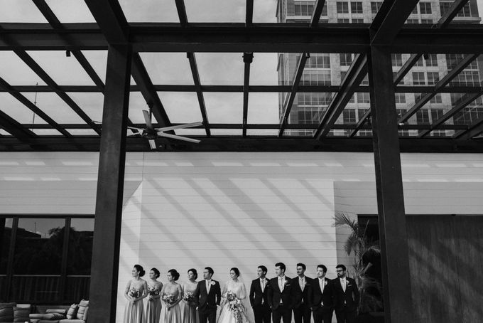 Viona & Ivan Wedding at Grand Hyatt Jakarta by ILUMINEN - 026