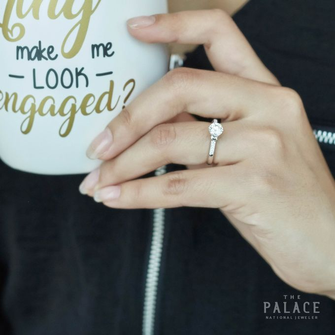 Engagement Ring by THE PALACE Jeweler - 014