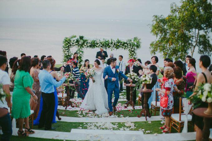 RUSTIC WEDDING DAVID AND JOICE IN SKY AYANA BALI by W organizer - 044