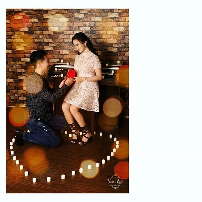 Prewedding Shoot 1 by Yonz Studio Photograph - 002
