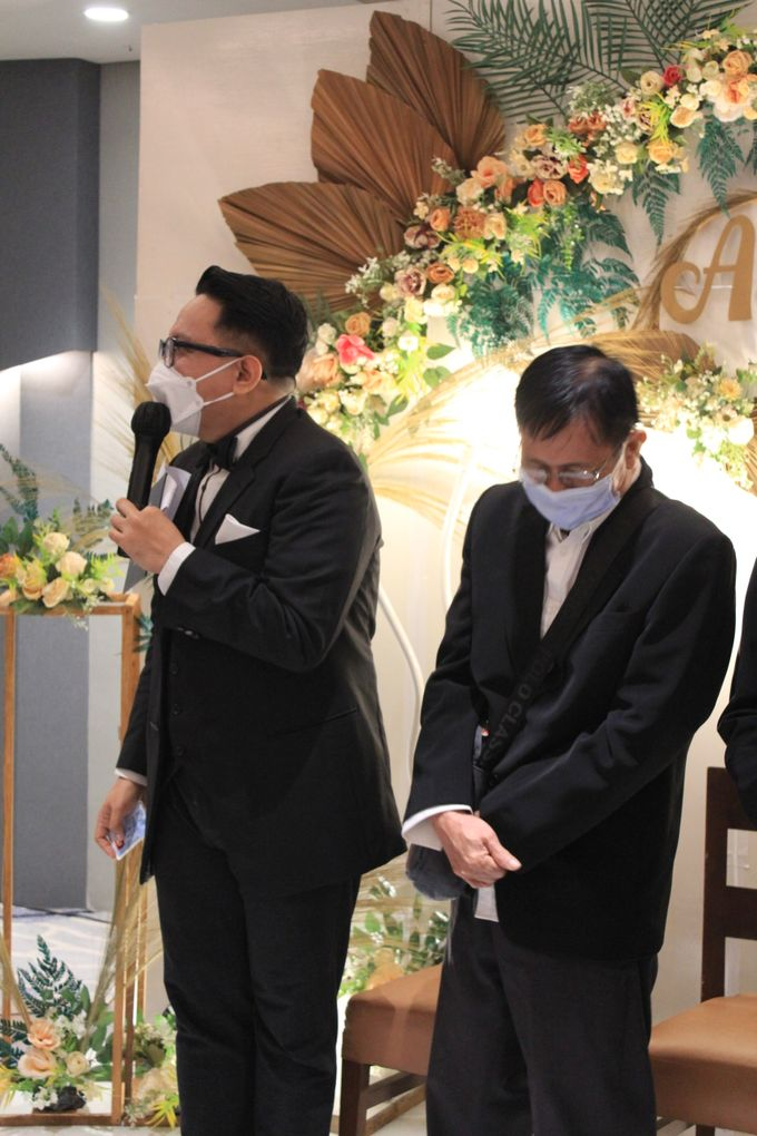 MC Wedding Double V Entertainment at JHL Solitaire Serpong by Double V Entertainment - 003