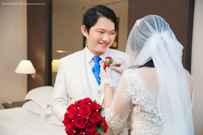Elit Condro and Fransisca - wedding by HD Photography - 016