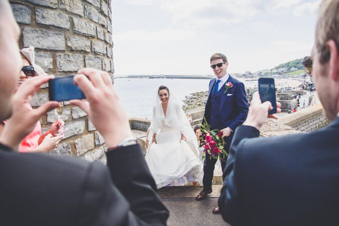 Clare and Ben's Marine Theatre wedding, Lyme Regis by Andrew George Photography - 028