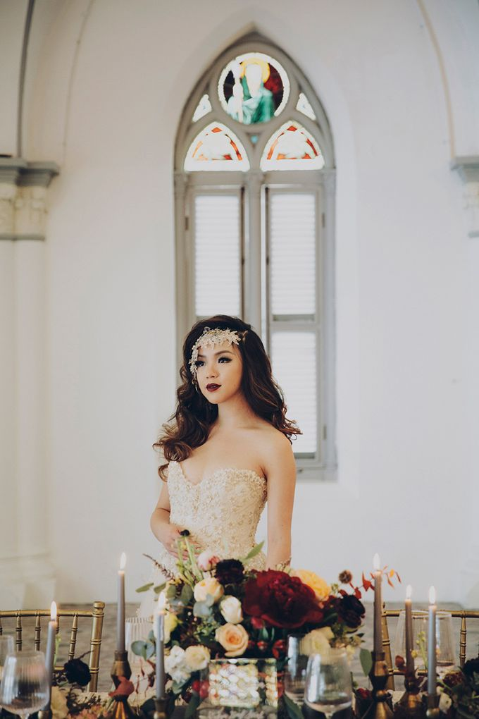 Heirlooms styled shoot by Gioielli Bridal Accessories & Crystal Bouquets - 006