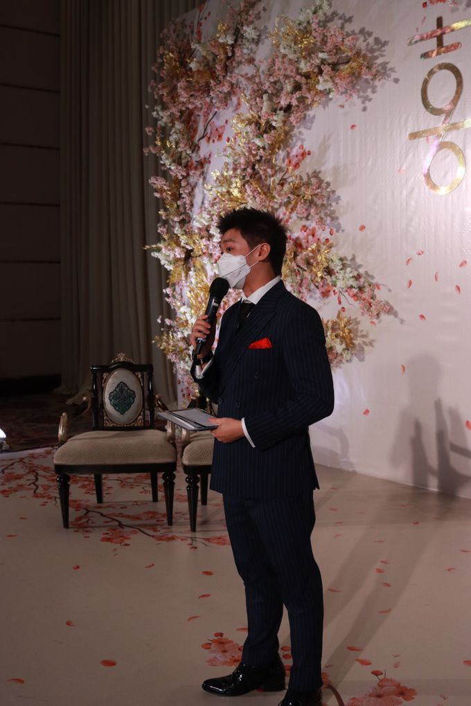 MC Teapai and New Normal Intimate Wedding Fairmont Hotel Jakarta - Anthony Stevven by Anthony Stevven - 010