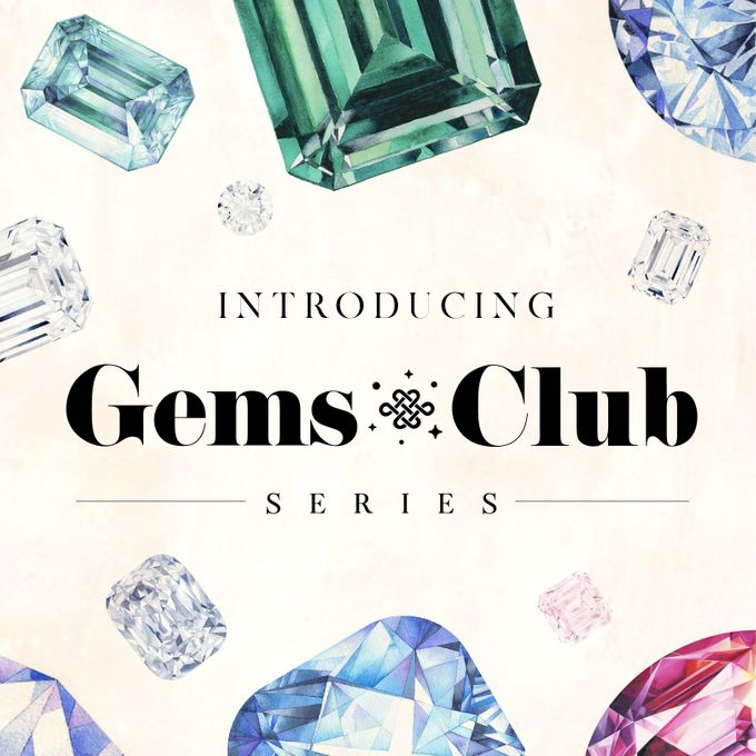 "Gemsclub ""Lavender Gem Series"" by Tulola - 002"