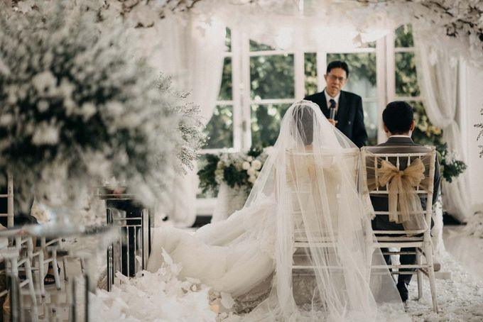 Andre & Elvira Wedding by Dhika by MA Fotografia - 029