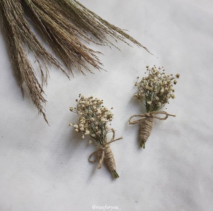 Boutonniere & Corsage by Rose For You - 029
