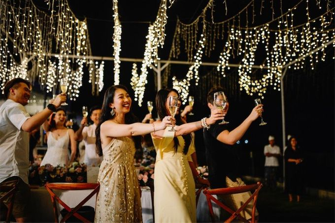 The Wedding of Donald & Larissa by BDD Weddings Indonesia - 030