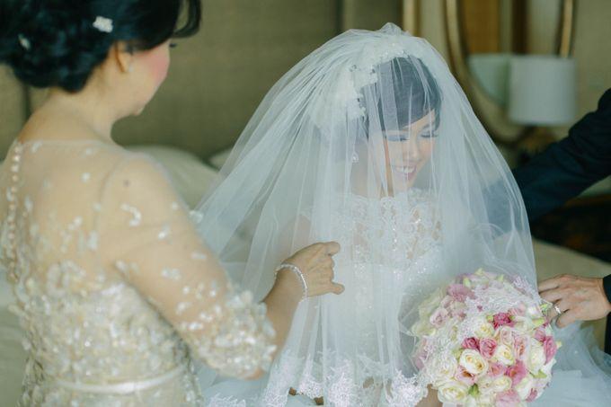 Maurice & Natasya Jakarta Wedding by Ian Vins - 012