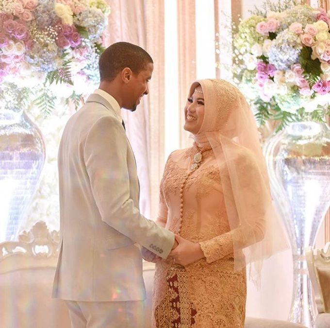 THE WEDDING OF NATASHA & JAMAL by White Pearl Decoration - 006