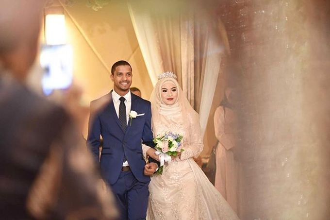 THE WEDDING OF NATASHA & JAMAL by White Pearl Decoration - 002