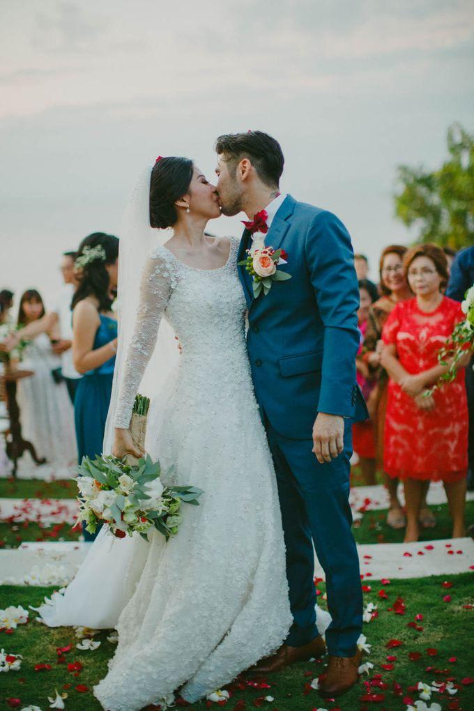 RUSTIC WEDDING DAVID AND JOICE IN SKY AYANA BALI by W organizer - 046