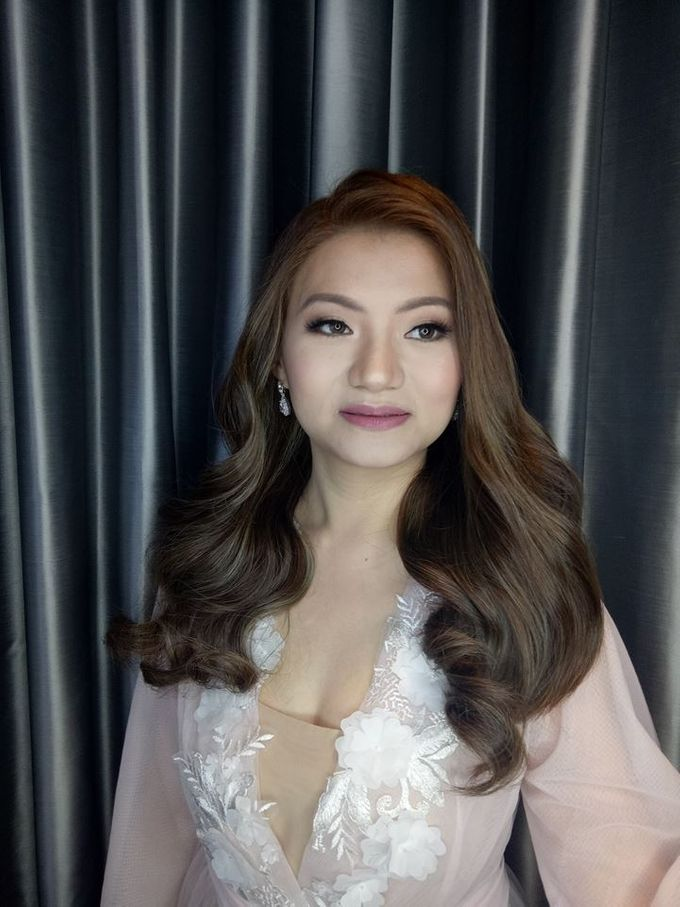 Beautiful Bride by Make up by Janine Tejing - 003