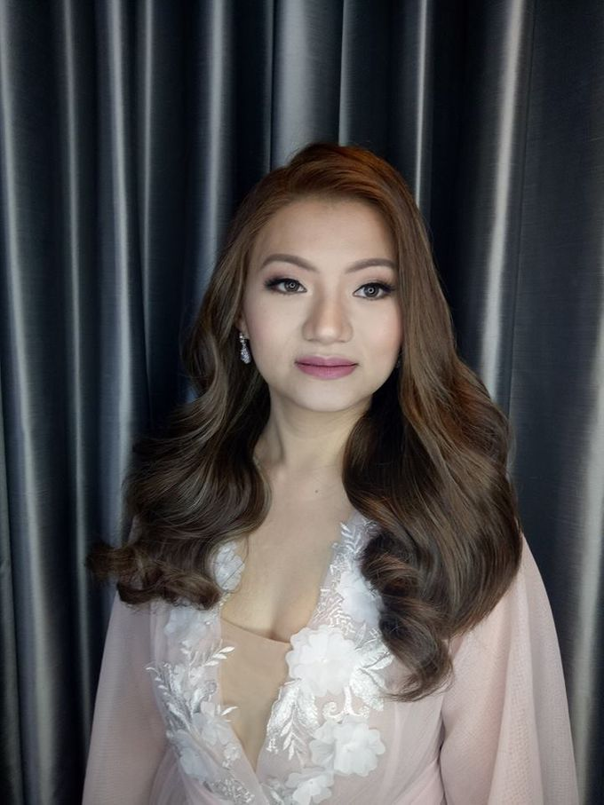 Beautiful Bride by Make up by Janine Tejing - 002