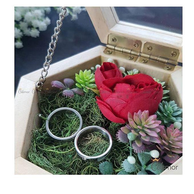 Hexa Box - Natural   Wedding Ring Bearer Box Indonesia - Celemor by Celemor - 003