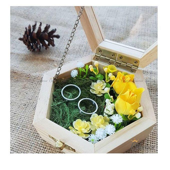 Hexa Box - Natural   Wedding Ring Bearer Box Indonesia - Celemor by Celemor - 006