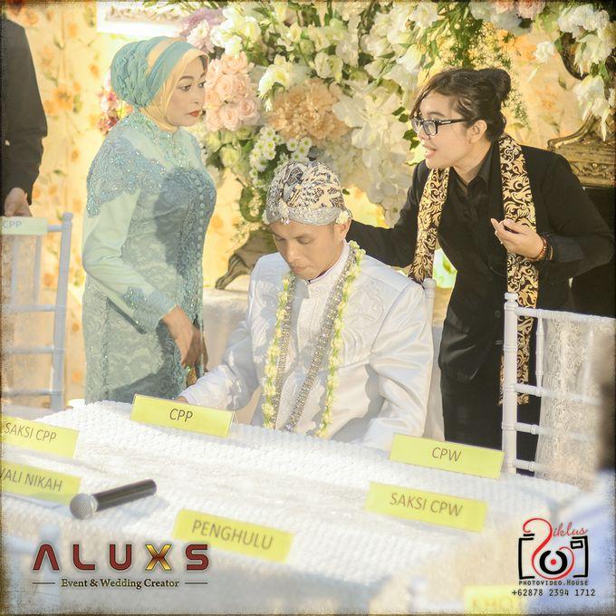 The Wedding of Santa & Khresna by Alux's Event & Wedding Creator - 030