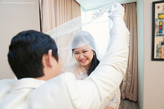 Elit Condro and Fransisca - wedding by HD Photography - 017