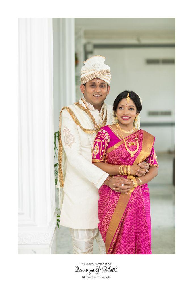 Wedding of Ishwariya & Mathi by DR Creations - 029