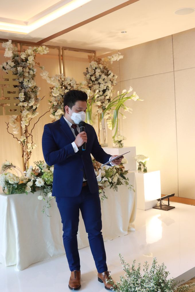 New Normal Entertainment Wedding at Westin Jakarta by Double V Entertainment by Double V Entertainment - 012