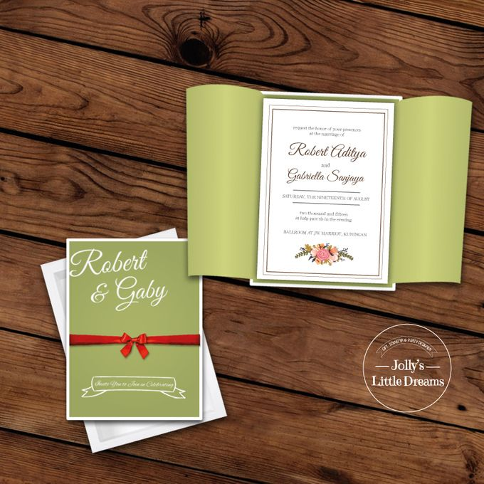 WEDDING INVITATION by Jolly's Little Dreams - 001