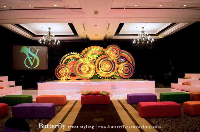 Sangeet Decoration by Butterfly Event Styling - 013