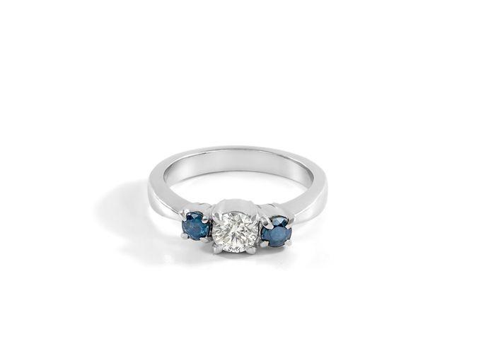 Sora wedding rings by Reine - 003