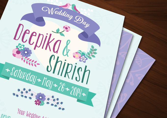 Printed Invitations by Let's Announce - 002