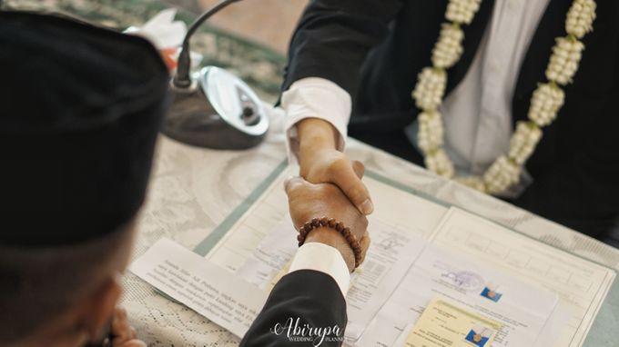 Poolside Wedding Party of Elvira & Irfan by Abirupa Wedding Planner - 005