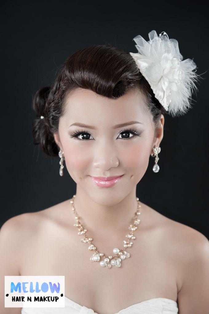 Bridal Photoshoot Hair & Makeup by Mellow Hair & Makeup - 003