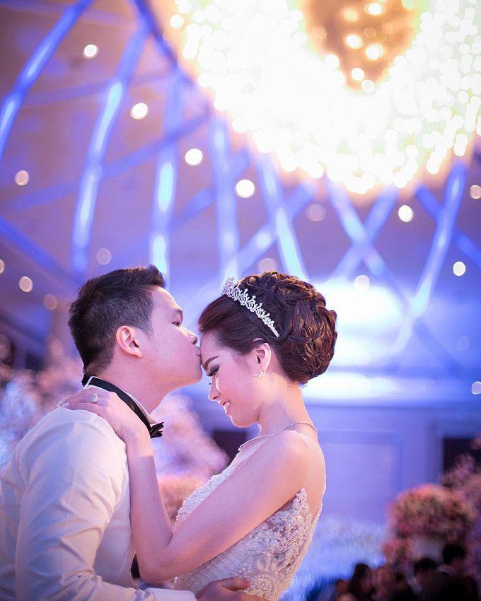Lukman & Vylen Wedding by Imelda Hudiyono Bride - 010