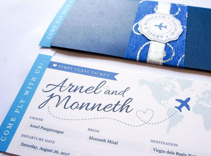 Arnel & Monneth by Designs by Melissa Tan - 002