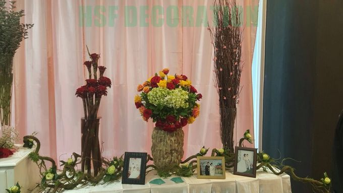 Wedding Decoration by Home Smile Florist - 002