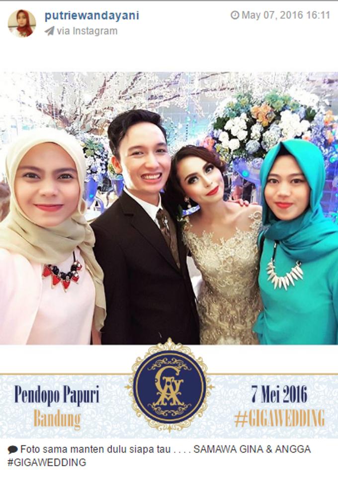 Pernikahan Gina & Angga by Jepret Allegra Instant Print - 002
