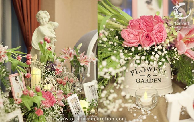 Life began in a garden by Orchid Florist and Decoration - 003