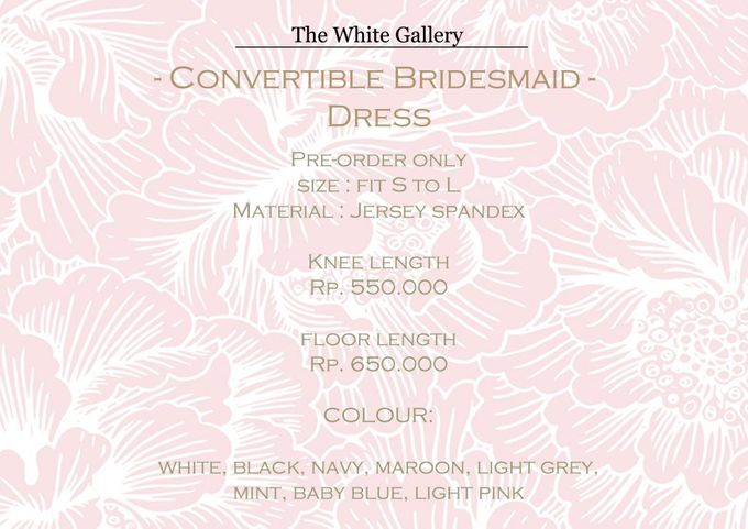 Convertible Bridesmaid Dress by The White Gallery - 007