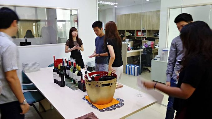 Wedding Wine Tasting at our New Office by Barworks Wine & Spirits Pte Ltd - 007