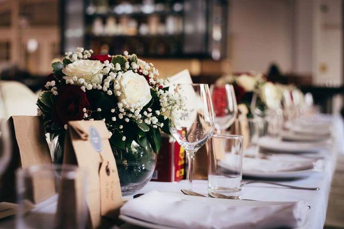 Wedding of Ian & Kelly @ Halia at Raffles Hotel by The Halia - 002