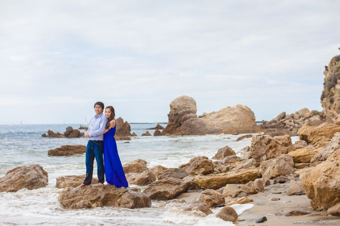 Little Corona Beach Engagement by EliteOnEarth Photography - 001