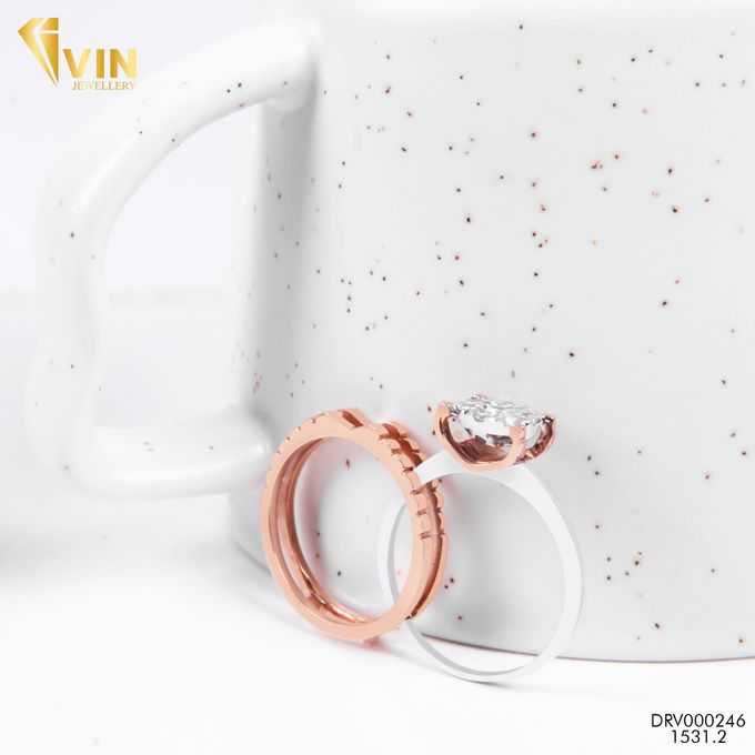 Diamond Wedding Ring by VIN Jewellery by V&Co Jewellery - 002