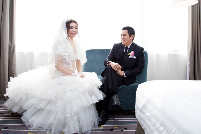 wedding day by Xin-Ai Bride - 023